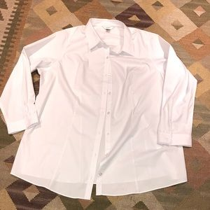 3x career blouse EUC